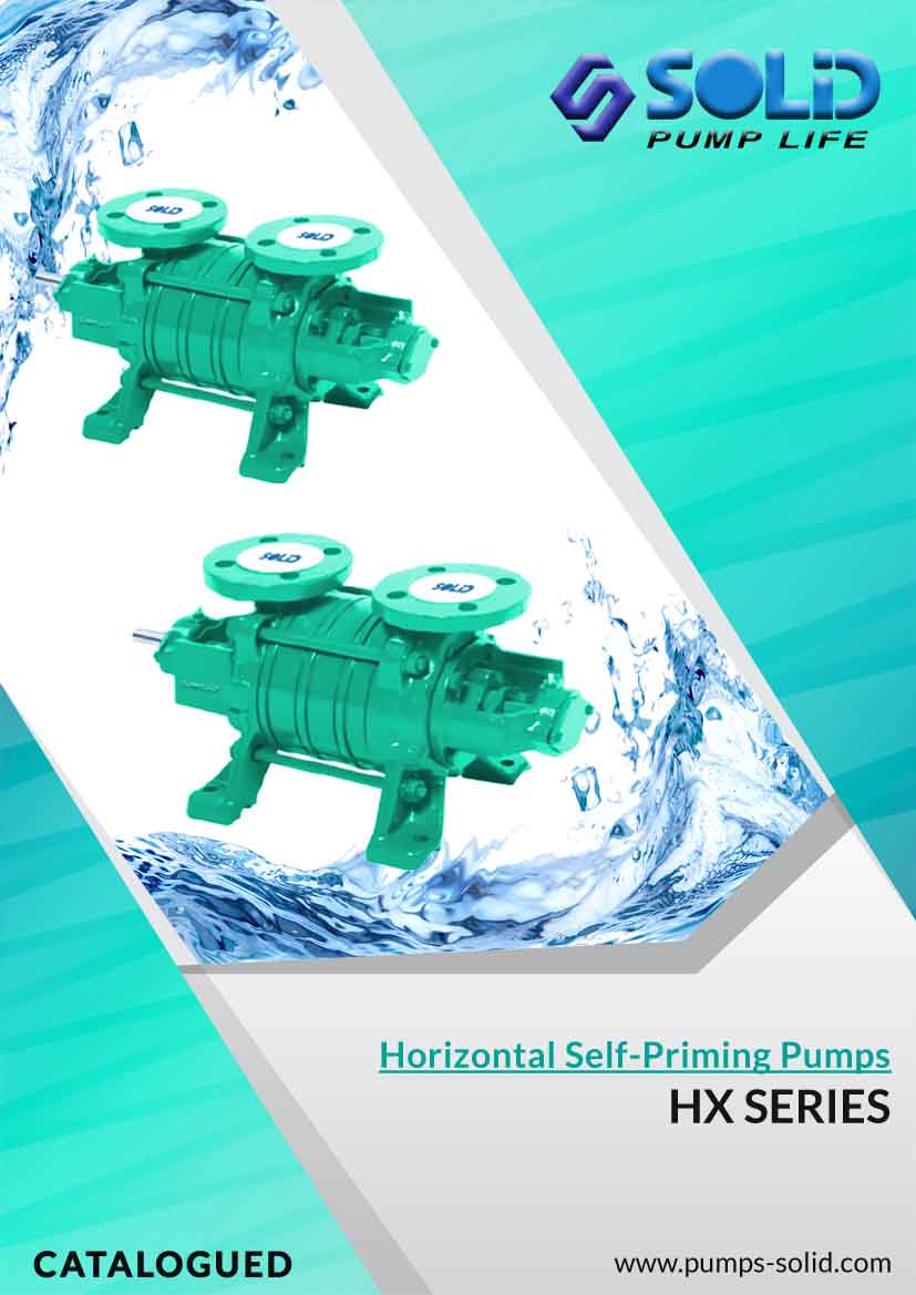 Horizontal Multistage Self-Priming Pumps