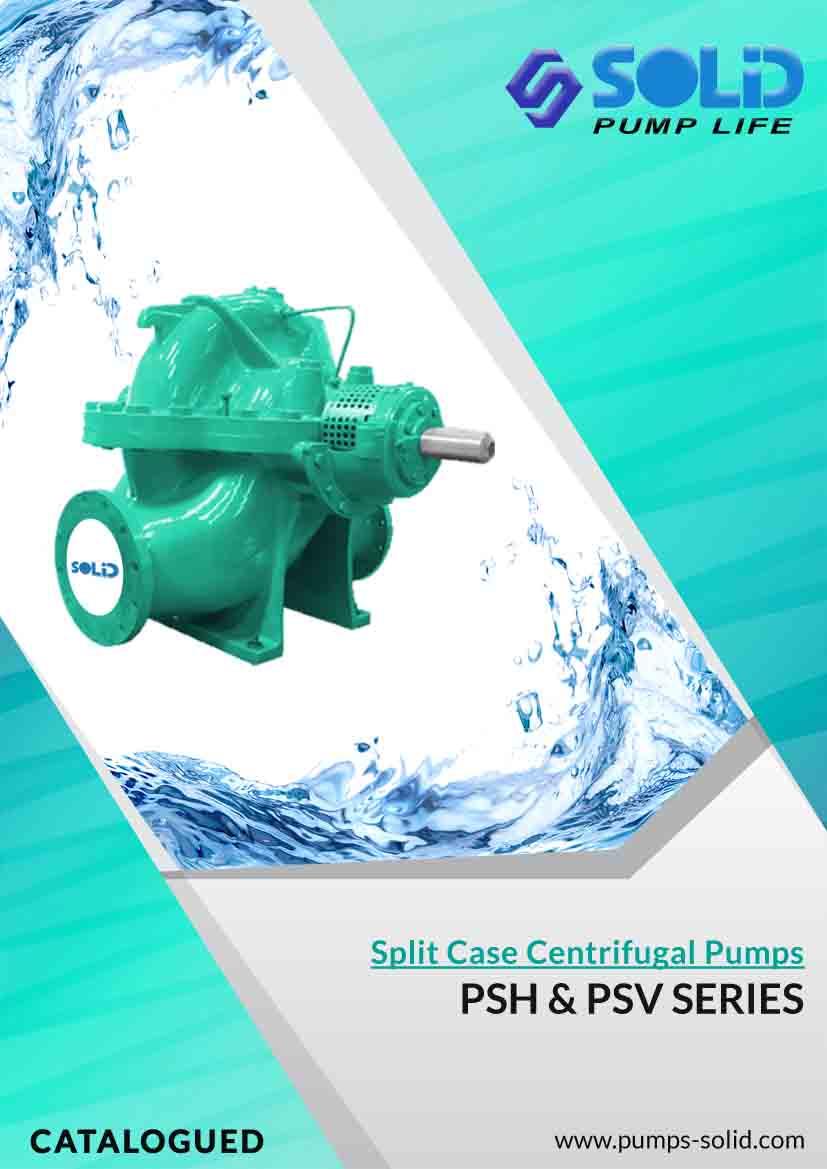 Double Suction Split Case Centrifugal Pumps